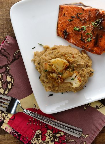Roasted cauliflower and pear puree = a (wild) alternative to mashed ...