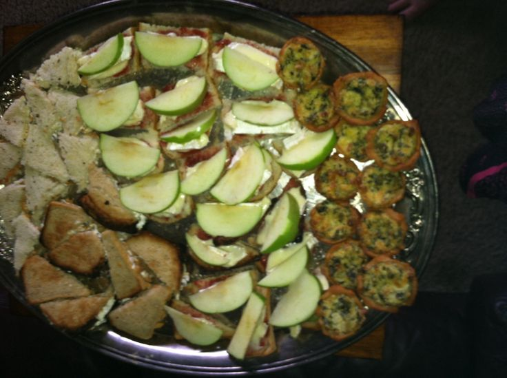 Tea Sandwiches: smoked salmon and caper on dill rye and gluten free ...
