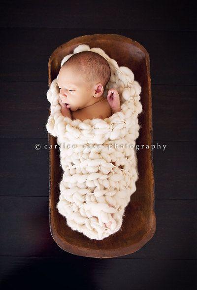 Baby Crochet Patterns With Bulky Yarn : PDF Crochet Pattern Newborn Prop Sock/Cocoon For Bulky to ...