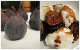 ... figs, 2 T butter, and 2 T brown sugar - Serve over ice cream, yogurt
