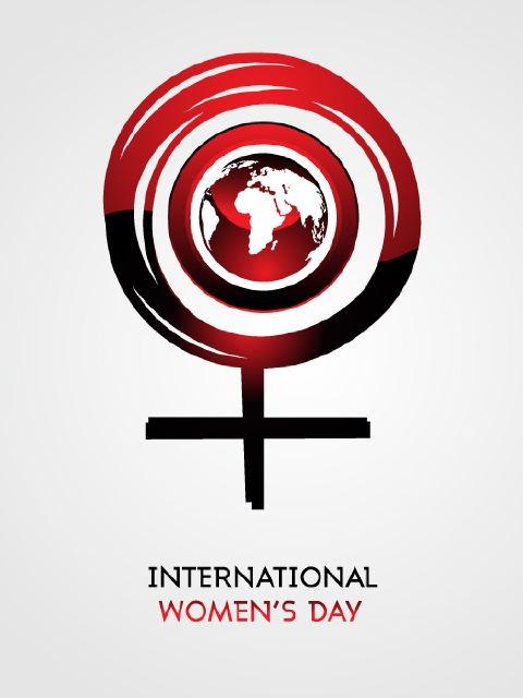 international women's day flag