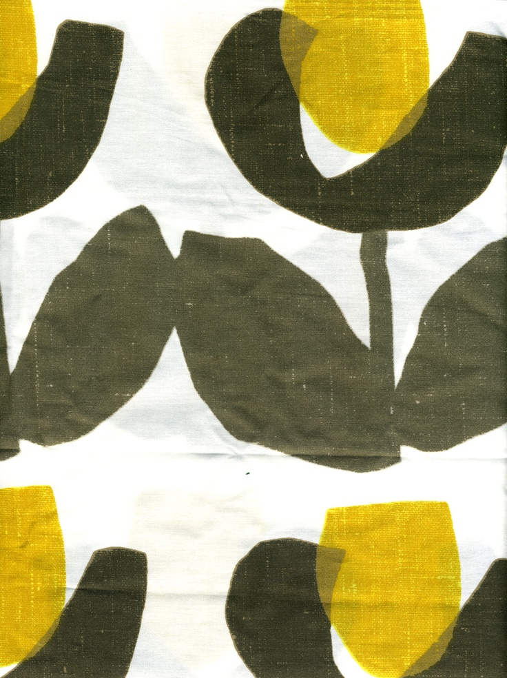 Tulip pattern produced West Elm