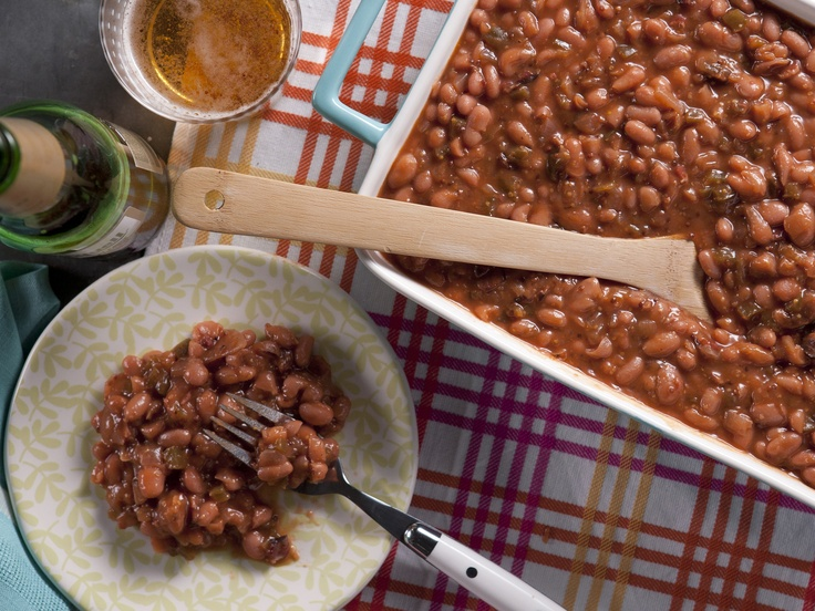 Tangy Maple Baked Beans with Applewood Smoked Bacon from ...