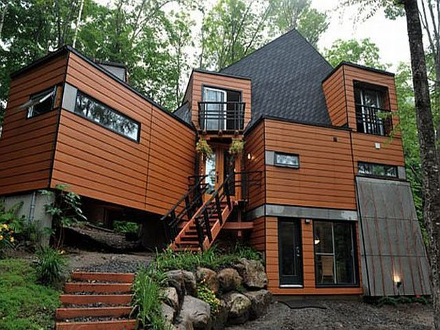Sea container homes 3 future cabin home pinterest - Sea container homes plans ...