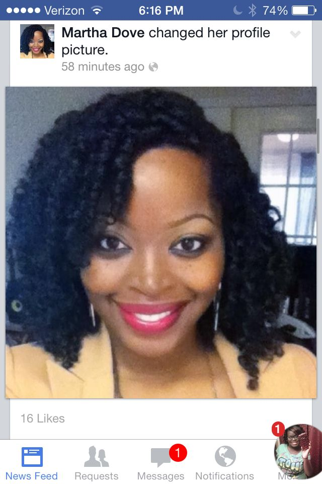 Ms Naturally Marys twin sister rocking crochet braids (; Check out my ...