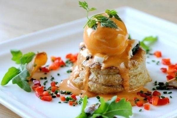 Pin canape vol au vents wedding menu cake desserts and for Wedding canape menu