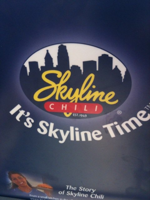 Skyline Chili--So Cinicinnati...we love it so much we had our ...