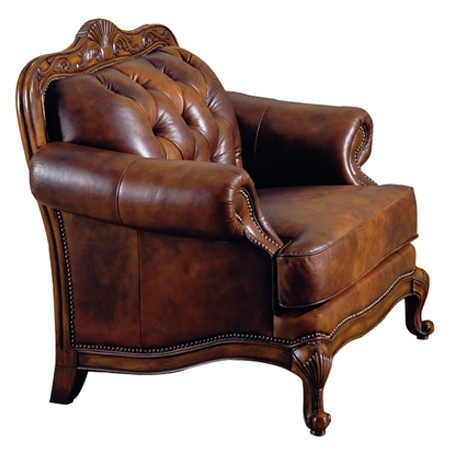 844 95 i pinned this valencia tufted leather chair from the feminine