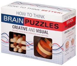 Brain Puzzles: How to Think Creative and Visual by Charles Phillips ...