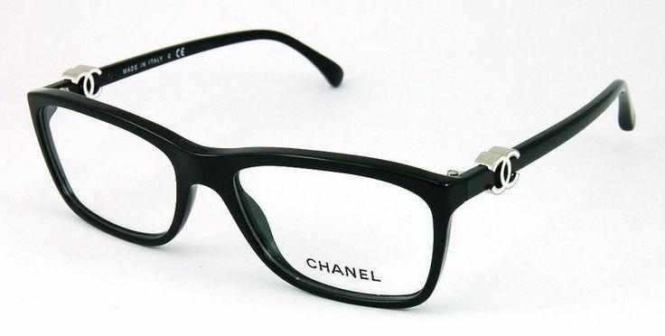 new chanel eyeglasses 3234 c 501 black w white chanel