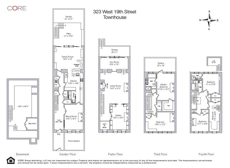 Floorplan threebedroomtownhouse d likewise Semi Detached Townhouse Floor Plans besides House Design Plans moreover Townhouse Floor Plans additionally 4 Bedroom Plex Floor Plan. on four story townhouse floor plans