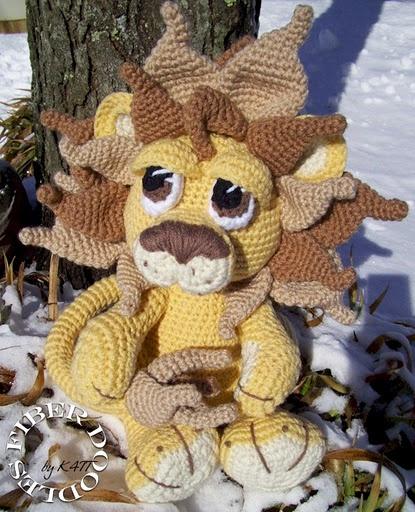 crochet pattern - Amigurumi lion crochet for babies and ...