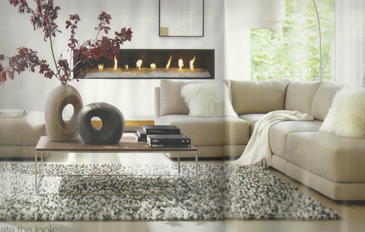 crate and barrel living room for the home pinterest