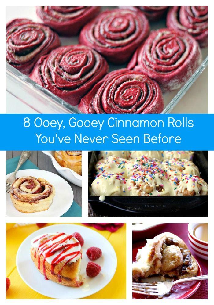 Ooey, Gooey Cinnamon Rolls You've Never Seen Before