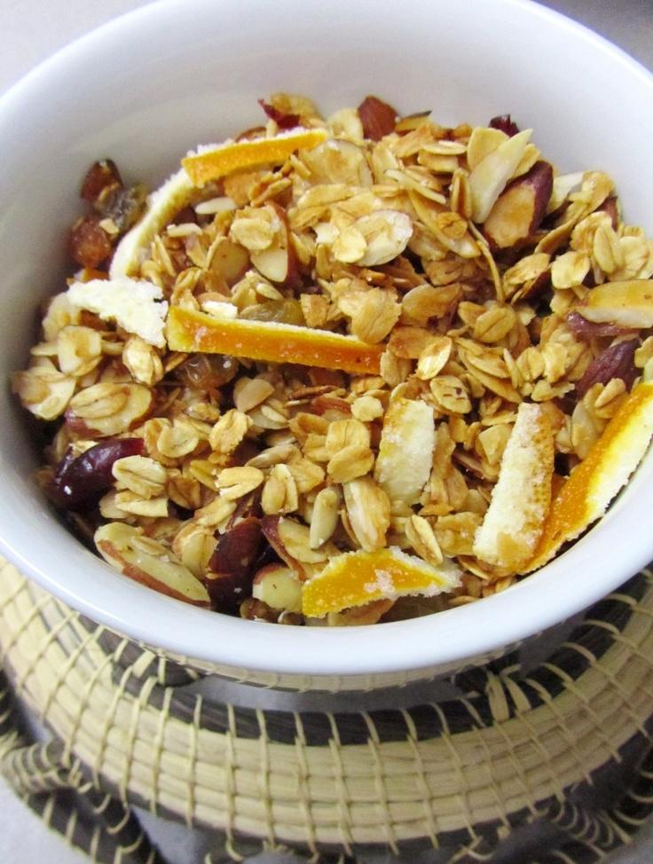 Cranberry and Orange Granola | Healthy Crap | Pinterest
