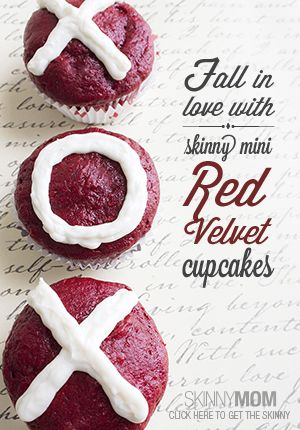 Skinny Mini Red Velvet Cupcakes | Recipe