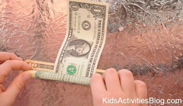 money magic tricks for kids