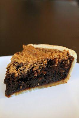 The Cupcake Avenger: Buttered Rum Shoofly Engagement Pie