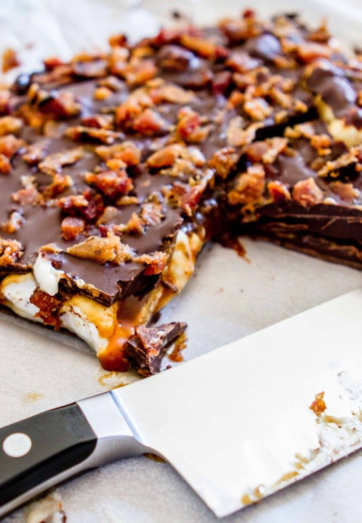 Chocolate Bacon Mallow Bark http://msbelly.com/2013/11/19/chocolate ...