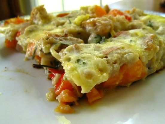 Sweet Potato Frittata | Garlic My Soul Recipes | Pinterest