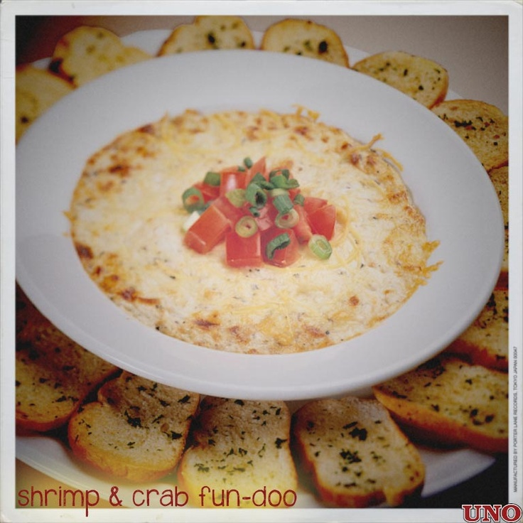 Shrimp & Crab Fondue | It ain't easy being cheesy | Pinterest