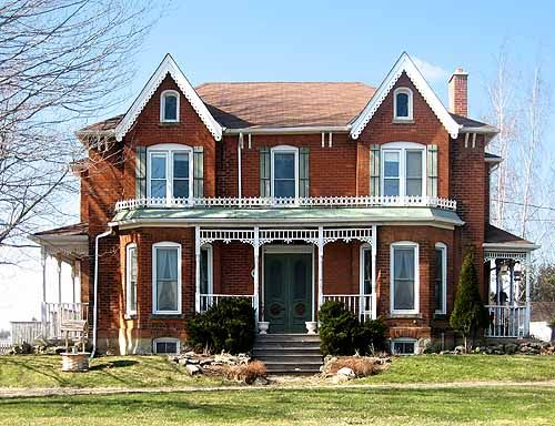 Pretty house various type homes pinterest Ontario farmhouse plans