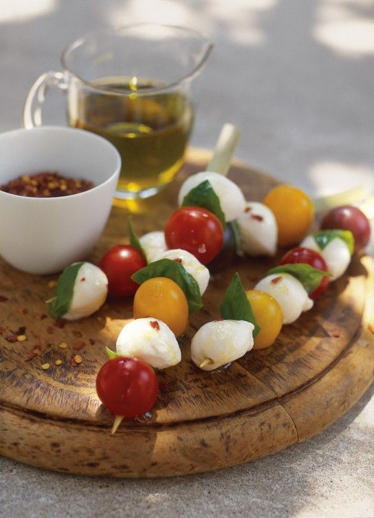 Bocconcini and Toy Box Skewers | Yumminess | Pinterest