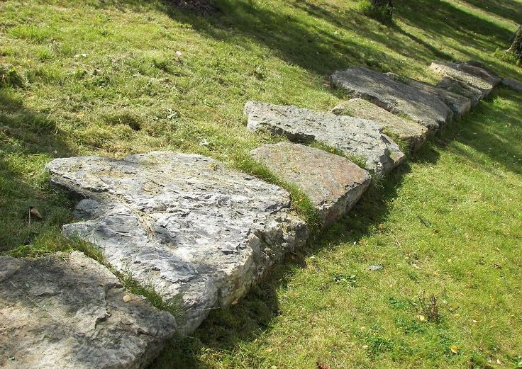Backyard Hill Erosion : Good idea to prevent erosion on a hill  use large flat rocks don,t