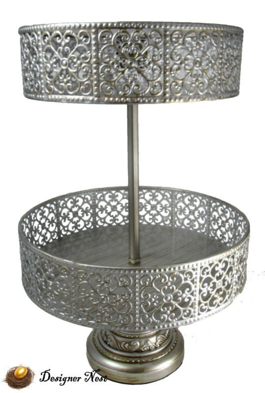 Trade Cake Stands : Tier cupcake stand klikel square serving tray