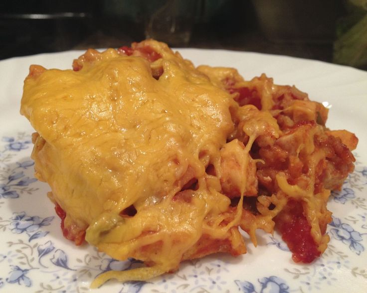 Delicious Mexican Chicken Casserole | Delicious Food | Pinterest
