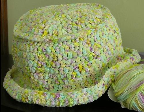 Free Knitting Pattern Rolled Brim Hat : Crochet Rolled Brim Hat Crocheting Pinterest