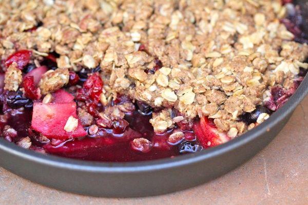 grilled fruit crisp | Grilled Foods | Pinterest