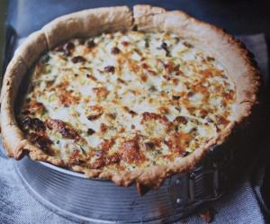 Leek and Ricotta Tart | Food on Friday: Carrots and Leeks | Pinterest
