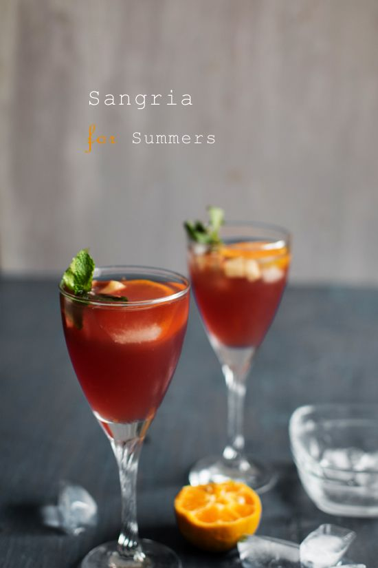Non Alcoholic Sangria Recipe , Perfect for people who do not care much ...