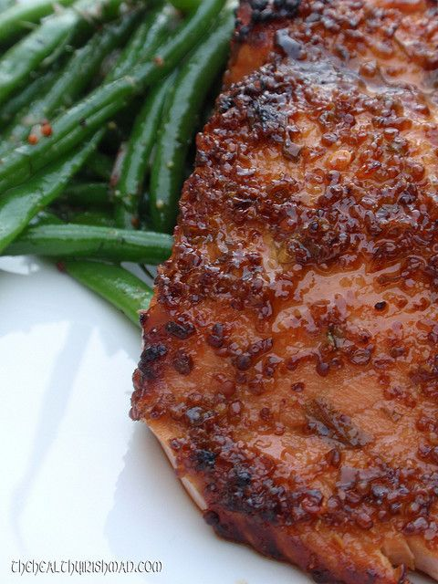 Five-Spice-Glazed Salmon With Sesame Green Beans Recipes — Dishmaps