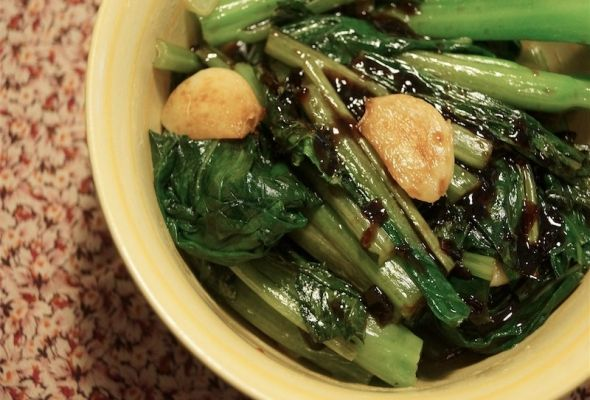 Chinese Broccoli with Garlic and Miso | Recipe