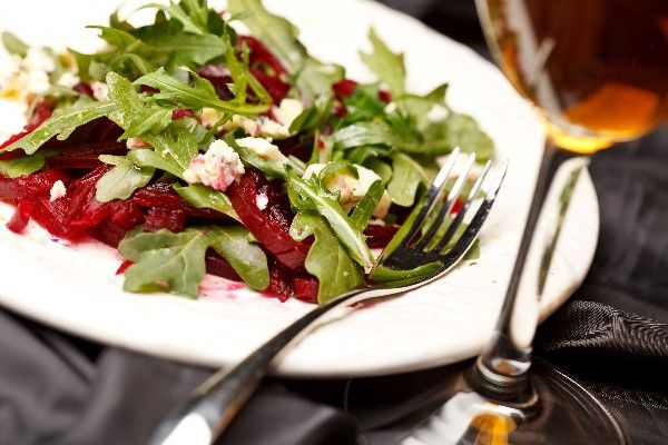 Beet and Goat Cheese Arugula Salad | Recipe collection | Pinterest