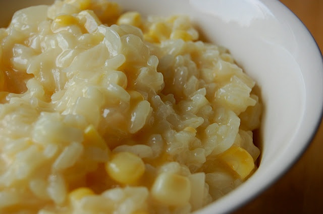 Savory Spicy Sweet: Fresh Corn Risotto | recipes to make... | Pintere ...