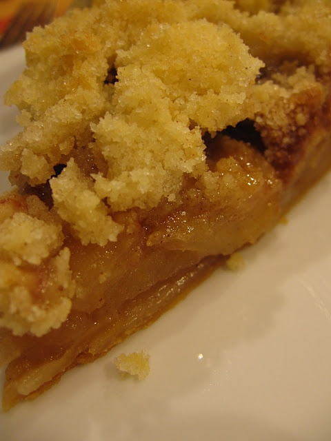 crumb topped apple pie | Yummy | Pinterest