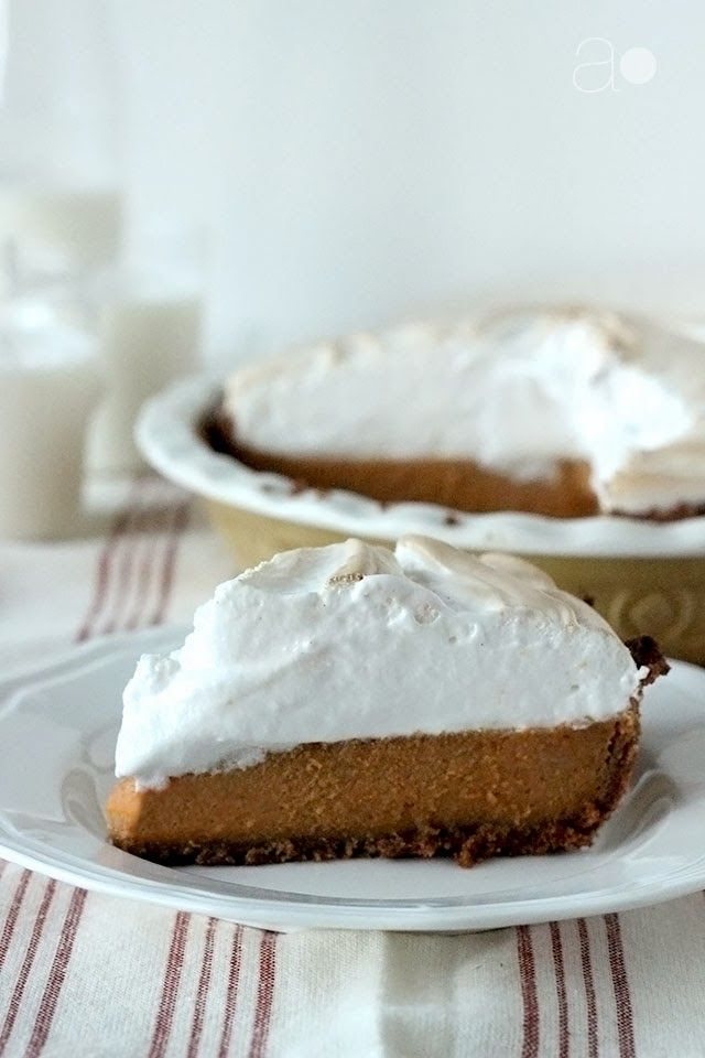 ambrosia: Sweet Potato Pie with Marshmallow Meringue...and a Guest ...