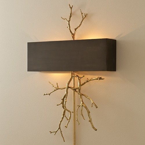 Twig Wall Sconce Bedroom Lighting Pinterest