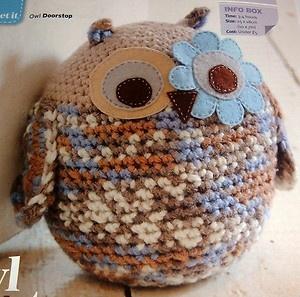 Free Crochet Cat Doorstop Patterns : Pin by Donna Medley on CROCHET KRAZY~Doorstops Pinterest