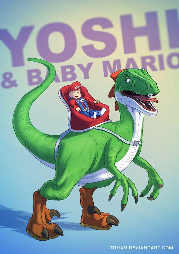 Realistic Yoshi Realistic Yoshi by Toh...