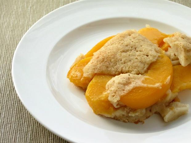 Gluten-Free Peach Cobbler   Gluten Free Sweets   Pinterest