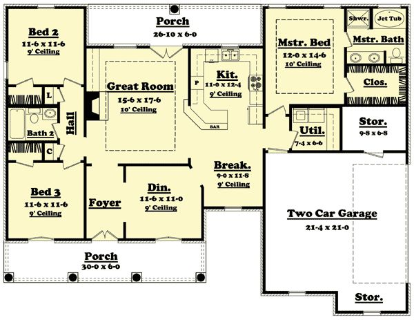 Flexible House Plan With Options
