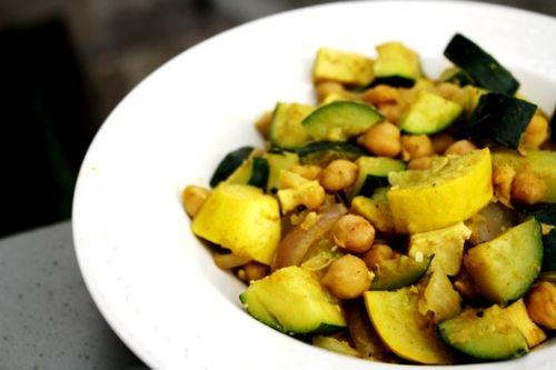 Garbanzo Zucchini Stir-fry | Vegetable Plates, Bowls, and Stir-Fry ...