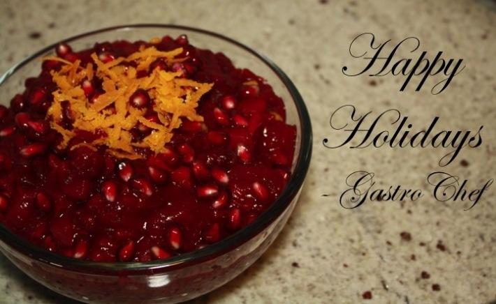Holiday Cranberry-Pomegranate Sauce Recipes — Dishmaps