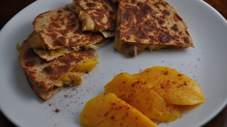 Grilled Tequila Chicken And Hatch Chile Quesadillas ...