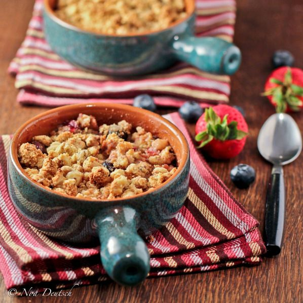 FRUIT CRUMBLE GF/Grain Free. Prep Time: 10 minutes Cook Time: 40 ...
