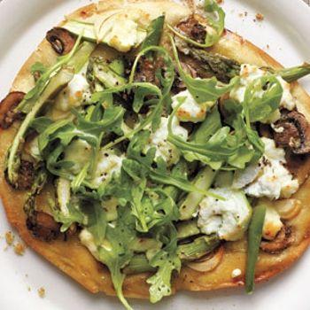... ricotta and squash blossom pizza grilled asparagus and ricotta pizza